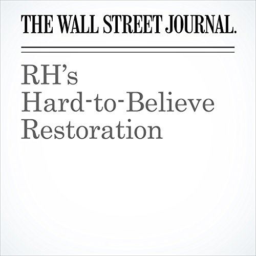 RH's Hard-to-Believe Restoration copertina