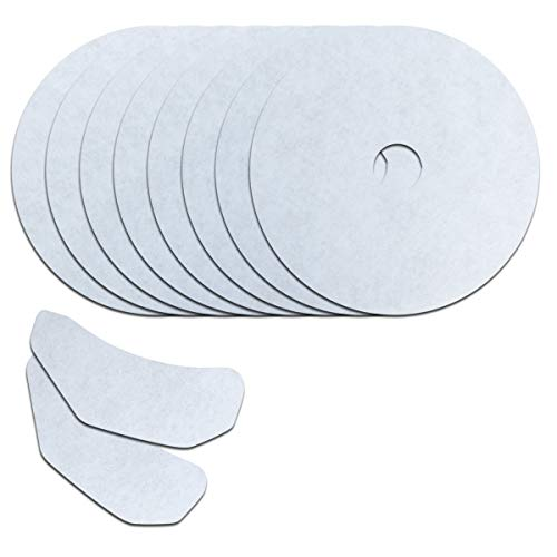 10Pack Universal Cloth Dryer Exhaust Filter Set Replacement For CTT and Other Cloth dryer