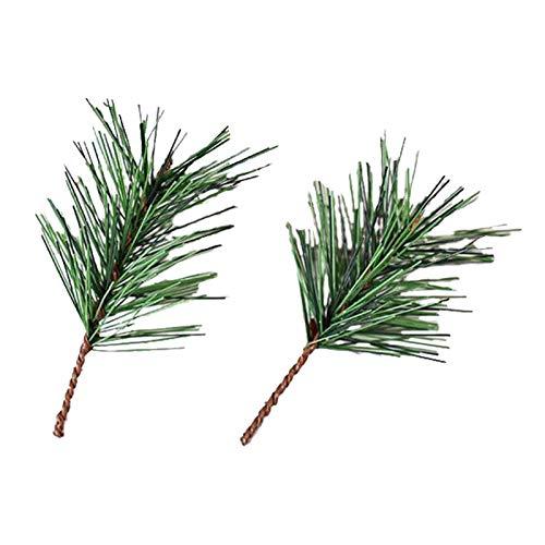 10pcs Artificial Pine Picks Girlande Für Weihnachten Pine Zweige Blumenarrangements Kränze Und Weihnachtsdekorationen