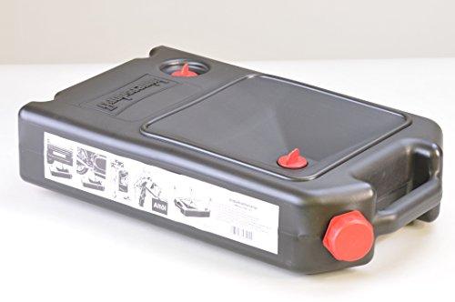 Ölwechsel-Kanister mit Auffangwanne 8l, passend für PKW und Motorräder, Made in Germany