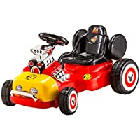 Mickey Mouse Electric Ride-On Roadster (Kids 3-5 Years, Battery and Charger Included)