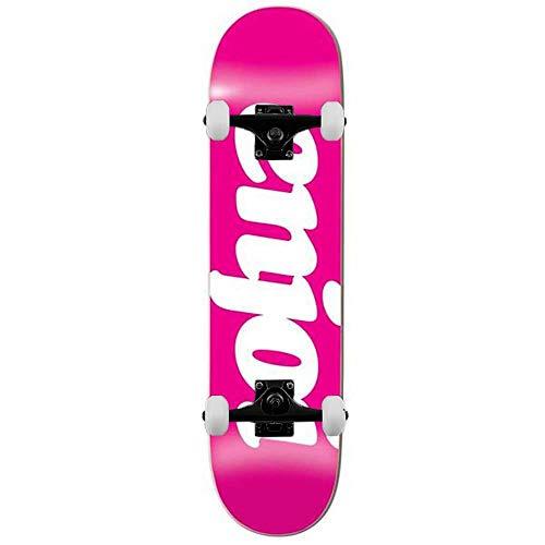 Enjoi Flocked - Skateboard completo, 20,3 cm, colore: Rosa