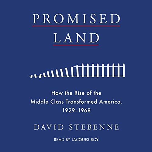 Promised Land Audiobook By David Stebenne cover art