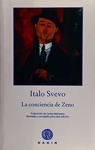 La conciencia de Zeno par Italo Svevo