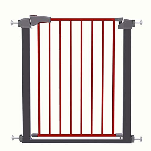 Baby Gate Wall Protector Porte très Large pour Animaux de Compagnie pour entrées de Porte Stair Play Yard Easy Step Walk Thru Gate 63-172cm Wide (Size: 130-137cm)