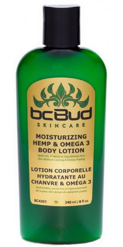BC Bud Hemp Body Lotion, Hemp & Omega 3 Daily Body Moisturizer for Dry, Itchy or Irritated Skin, Green Tea Fragrance…