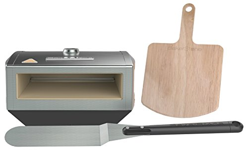 Wood Fired Performance On Your Gas Stove. Converts Your Indoor Gas Range Or Portable Outdoor Stove Burner Into An Artisan Pizza Oven Bake Artisan Pizzas In 2-4 Minutes*; Fits Up To An 11 In. Pizza (*Performance May Vary Depending Upon Burner Btu'S, E...
