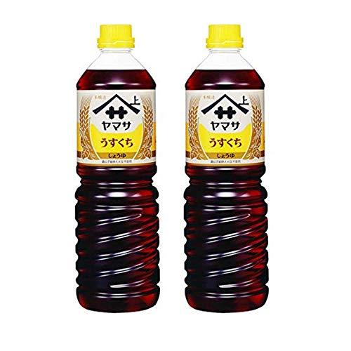 Yamasa Usukuchi Shoyu - Light Color Japanese Soy Sauce, 1 Liter/34 Ounce, Imported from Japan (2)