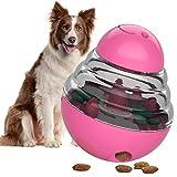 CEXWZQ - Mordedor para mascotas con goma sólida y duradera, juguete para la limpieza dental, juguete para mascotas, limpiador de dientes, perro, mordedor, naranja_S, Rosa intenso., medium