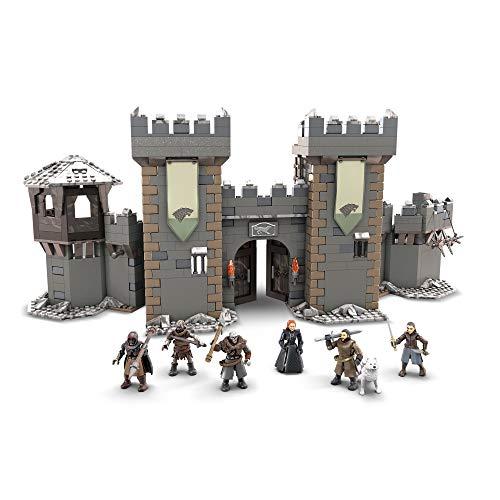 Mega Construx GMN75 - Probuilder Game of Thrones Die Schlacht um Winterfell, enthält 6 originalgetreue Mikro-Actionfiguren mit 12Bewegungspunkten, Spielzeug ab 16 Jahren