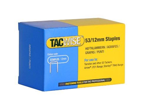 Tacwise 0450 3,1/40 mm spoel Zincati ringen (onder), zilverkleurig