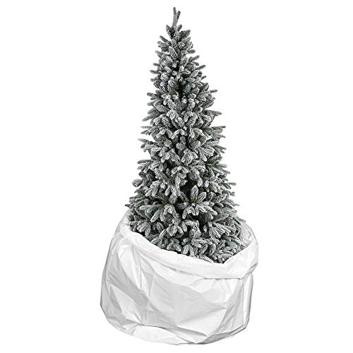 Christmas Tree Poly Storage Bag 9.3'x6' for 9FT Tree,Extra Large Disposal Plastic Tree Cover