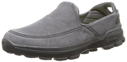 Skechers Performance Men's Go Walk 3 Unwind Slip-On Walking Shoe,Black,11 M US