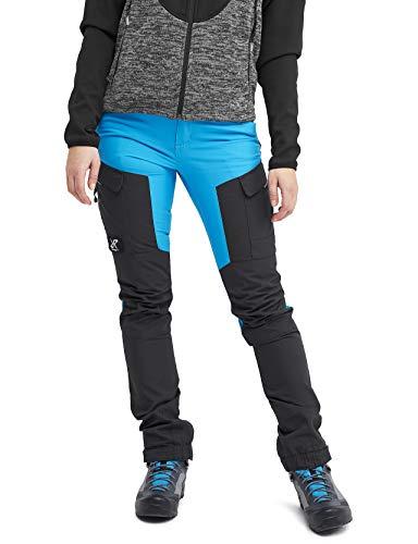 RevolutionRace Damen RVRC GP Pants, Hose zum Wandern und für viele Outdoor-Aktivitäten, Blue, 42