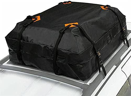 WlP Portapacchi Impermeabile per Auto 425L Borse da Tetto Pieghevoli Borsa da Tetto Durevole per Il Trasporto di Carichi Portabagagli da Viaggio Universale per Auto, Furgoni O SUV da Viaggio