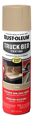 Rust-Oleum 253438 Truck Bed Coating Spray, 15 oz, Tan