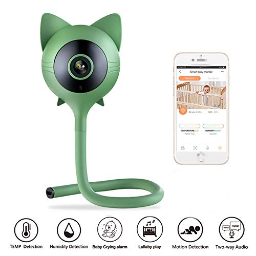 ZXL Babyphones Wireless Baby Monitor Camera Video Ip Camera telefoon Remote Cry Alarm luchtvochtigheid en temperatuurbewaking