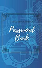 Password Book A Premium Journal And Logbook To Protect Usernames And Passwords Login And Private Information Keeper: Vault Notebook Online With Tabs ... Keeper-hardback Organizer-large Size Record