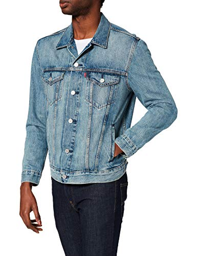 Levi's The Jacket Giacca in Jeans, Killebrew Trucker, M Uomo