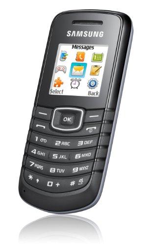 Samsung E1080w Handy (Ohne Branding, 3,6 cm (1,4 Zoll) Display) black