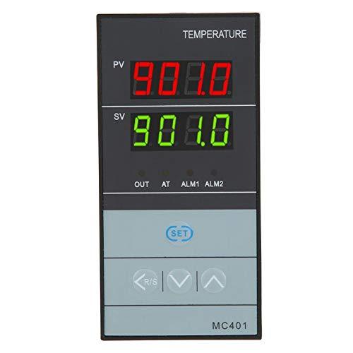 Controlador de temperatura PID, termostato digital, relé de termostato de metal, termorregulador de salida SSR para energía eléctrica, químico