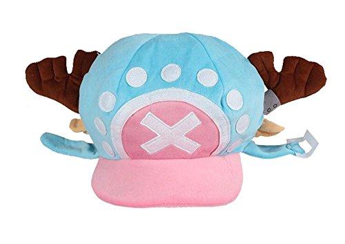 Gumstyle One Piece Tony Tony Chopper Anime Cosplay Costume Plush Hat 1