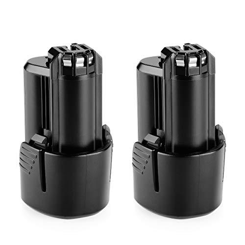 Energup - Batería de repuesto para Bosch BAT411 BAT411 A BAT412A 2607336014 2607336864 (ion de litio)