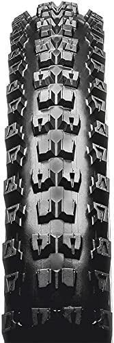 Yubingqin Neumático de Bicicleta Unisex Adulto MTB Tire, 27.5 x 2.4, Negro