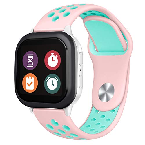 Gizmo Watch Band Replacement for Kids, Breathable Soft Silicone Smartwatch Band Compatible with Gizmo Watch 2 / Gizmo Watch 1
