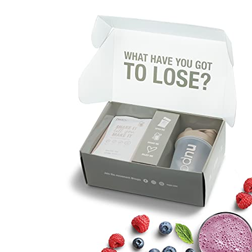 NUPO Diet Starter Set – Alle Sorten zum Ausprobieren I Klinisch geprüfter Mahlzeitersatz für effiziente Gewichtsabnahme I 1 x Shaker, 5 x Diät-Shake, 3 x Suppe, 1 x Oatmeal I Low calorie & GMO frei