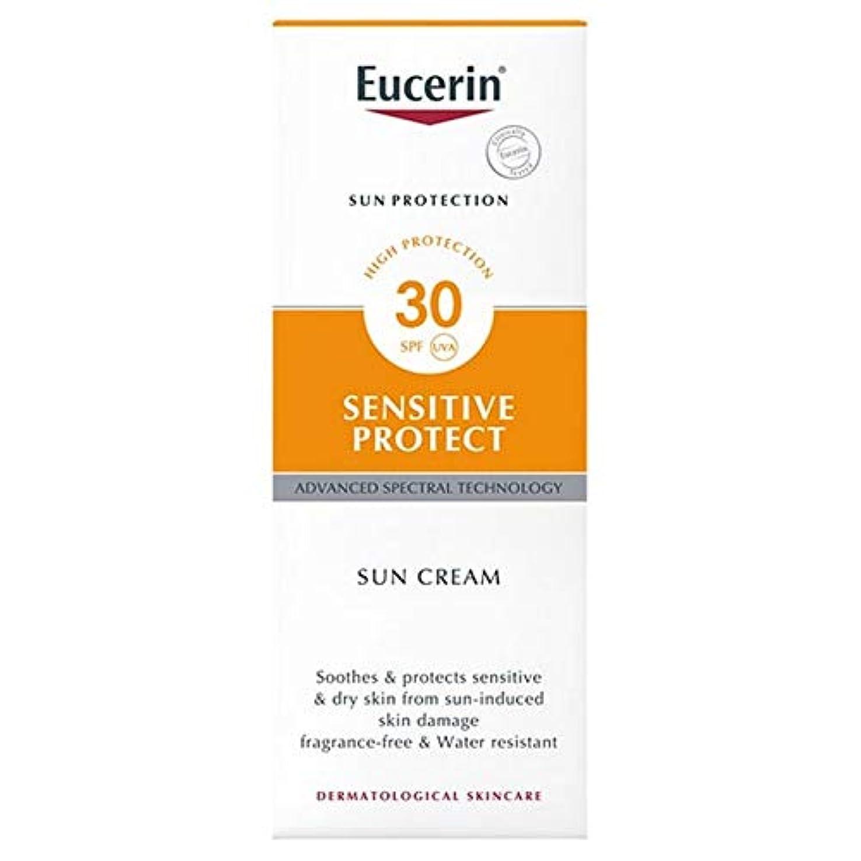 線オアシス絶え間ない[Eucerin ] ユーセリン敏感プロテクト日クリームSpf30の50ミリリットル - Eucerin Sensitive Protect Sun Cream SPF30 50ml [並行輸入品]