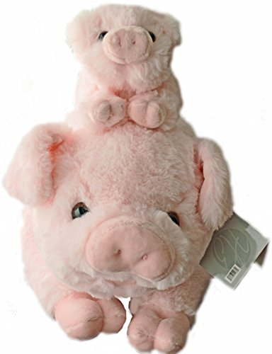 Pigs Plush Stuffed Animals Set -18 inch Pig with Baby Piglet - Kids Toys Gift Pig Animal Stuff