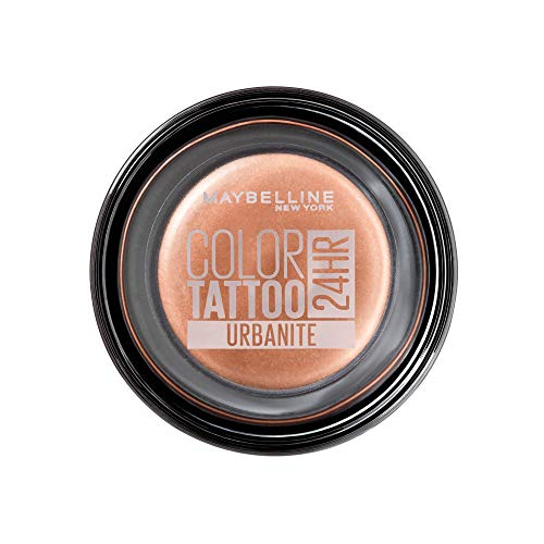 Maybelline New York Color Tattoo Creme-Gel Lidschatten, 170 Urbanite, Nude, 53 G