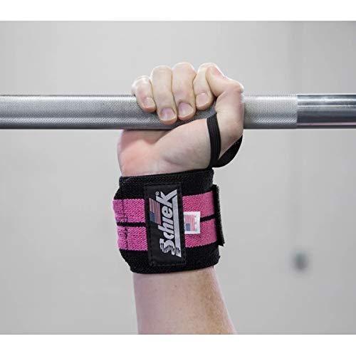 Schiek Handgelenkbandagen, strapazierfähig, 30,5 cm, Pink