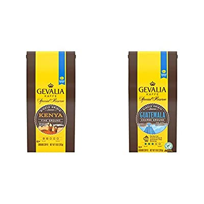 Gevalia Mocha Latte Espresso Coffee with Froth Packets, K-Cup Pods, 6 Count (Pack of 6)