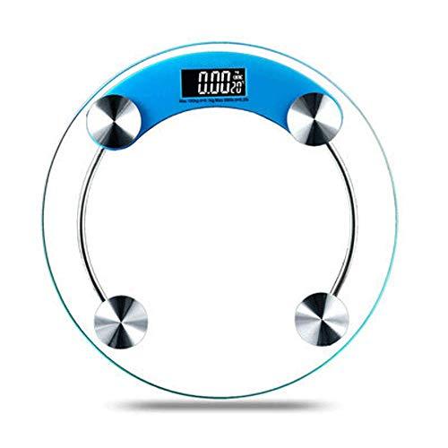 GJFeng Elektronische weegschalen Menselijk Lichaamsgewicht weegschalen Huishoudelijke Gezondheidsweegschalen Gewichtsschalen Klassieke Ronde weegschalen