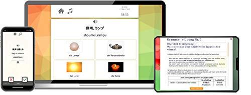 Japanisch Online-Sprachkurs: Fließend sprechen lernen (von A1 bis C2). Komplettkurs