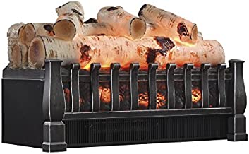 Duraflame DFI021ARU-05 Electric Log Set Heater with Realistic Ember Bed, Antique Bronze