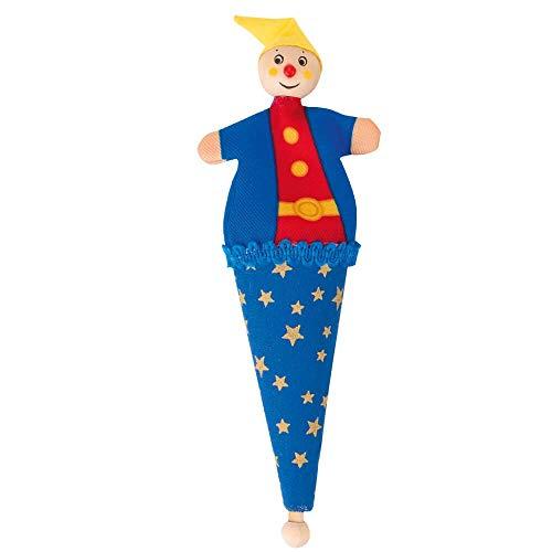Goki – Mini marionetas de bolsa Capserl Azul