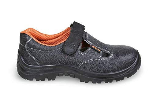 Beta Tools 72471240 sandalen leer zwart C/lam BK 40, 40 mm