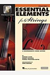 Essential Elements for Strings: Book 1 with EEi (Violin) Spiral-bound