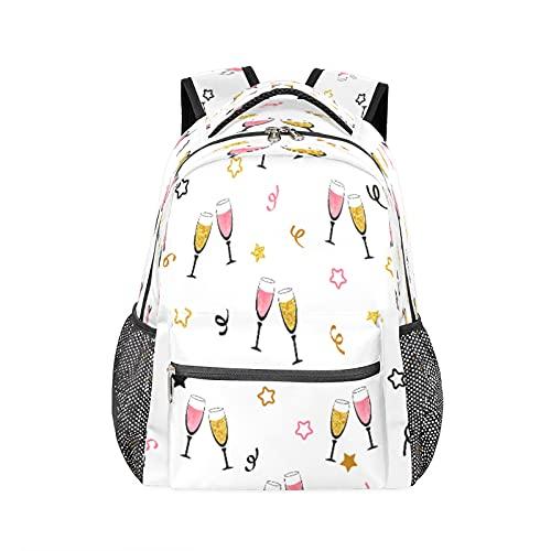 Mochila con diseño de estrella de dibujos animados, resistente al agua, para la escuela, para el ordenador, viajes, senderismo, camping, bolsa de hombro para mujeres y hombres