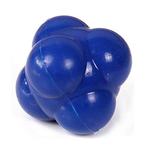 Education Toys, Sport Silicone Hexagonal Hex Ball Solid Fitness Training Exercise Reaction Balls