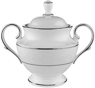 Lenox Opal Innocence Platinum-Banded Bone China Sugar Bowl
