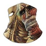 Att-ack-On-Titan Cubierta facial Escudo Calentador de cuello Bufanda para el cuello Banda para la cabeza multifuncional Pañuelo para la cabeza Pasamontañas Escudos bucales elásticos Transpirable -618