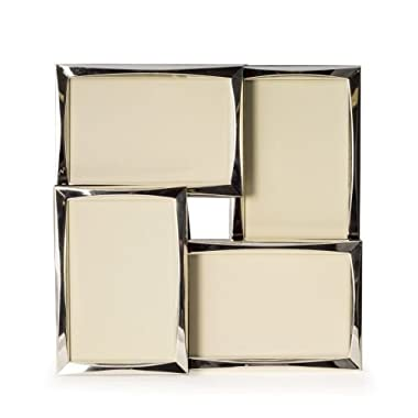 Bey Berk Silver Tone 4 Collage 4 x6  Picture Frame
