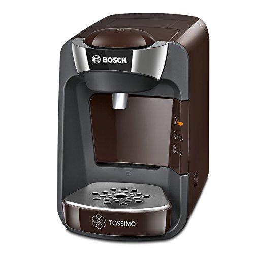 Bosch TAS3207 Tassimo Suny Kapselmaschine, über 70 Getränke, vollautomatisch, geeignet für alle Tassen, nahezu keine Aufheizzeit, 1300 W, braun/anthrazit
