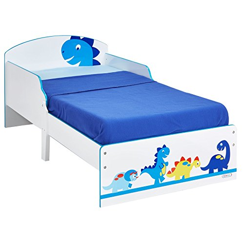 Dinosaur Kids Toddler Bed by HelloHome
