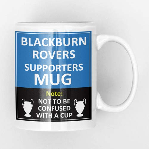 Blackburn Rovers Football Supporters Rival Team Joke Funny New and Easy Office Tea and Coffee Mug Gift