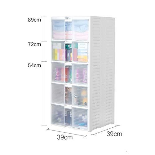 Tour de rangement Tiroir De Rangement Cabinet, Armoire Bébé for Enfants Locker, Matelassée Locker, Vêtements, Casse-croûte, Multi-Couches Cabinet ZHAOSHUNLI (Size : 3 Layers)